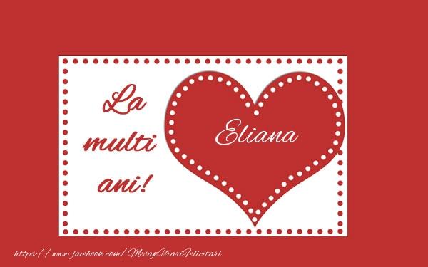Felicitari de la multi ani | La multi ani Eliana