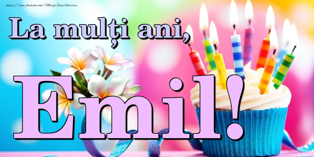 Felicitari de la multi ani | La mulți ani, Emil!