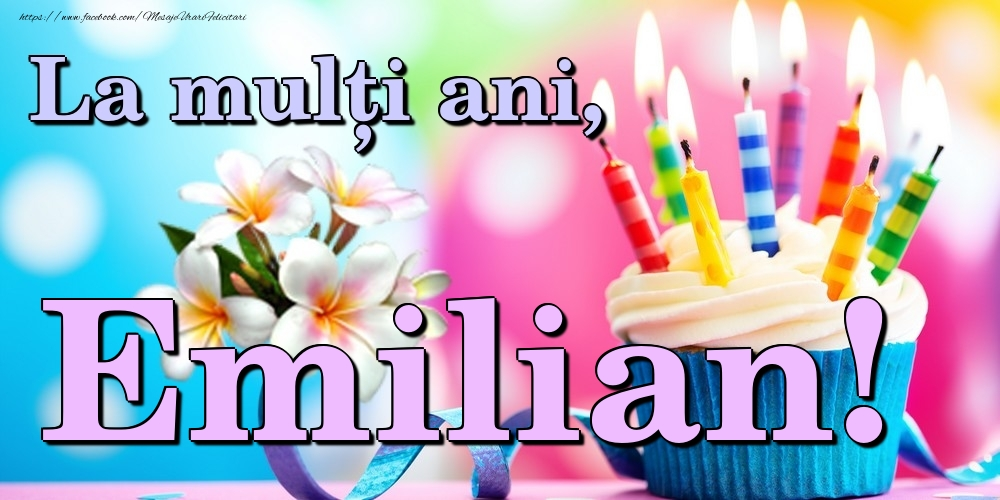 Felicitari de la multi ani | La mulți ani, Emilian!