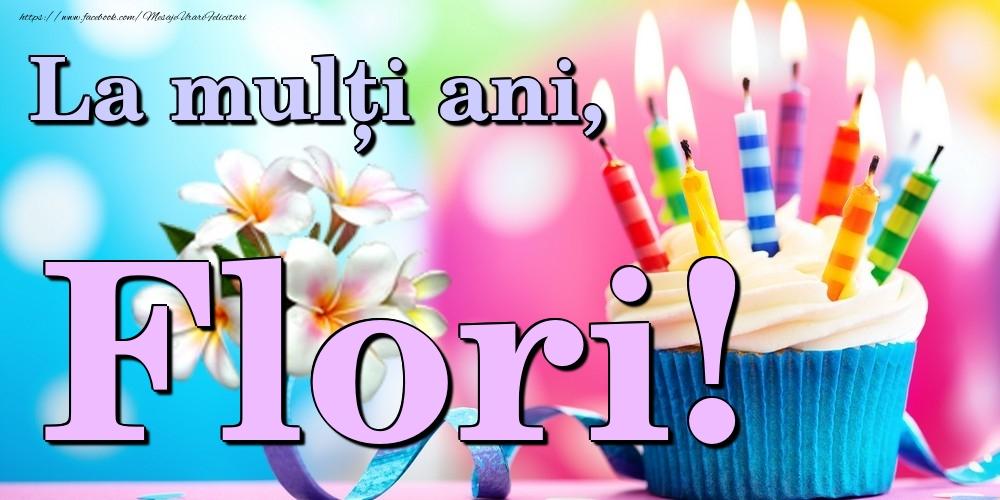 Felicitari de la multi ani   La mulți ani, Flori!