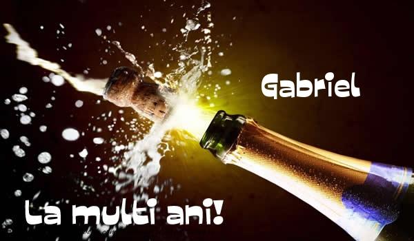 Felicitari de la multi ani | Gabriel La multi ani!