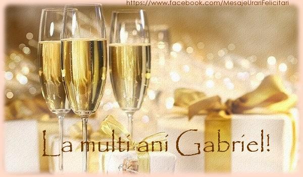 Felicitari de la multi ani | La multi ani Gabriel!
