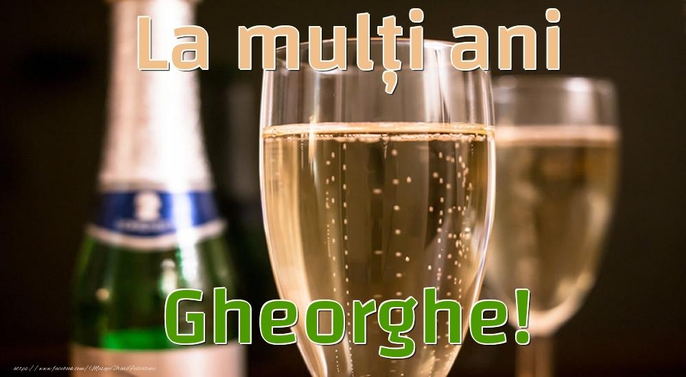 Felicitari de la multi ani | La mulți ani Gheorghe!