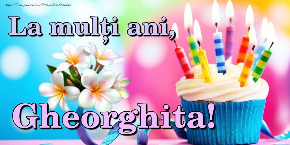 Felicitari de la multi ani | La mulți ani, Gheorghita!