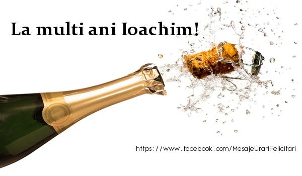 Felicitari de la multi ani   La multi ani Ioachim!