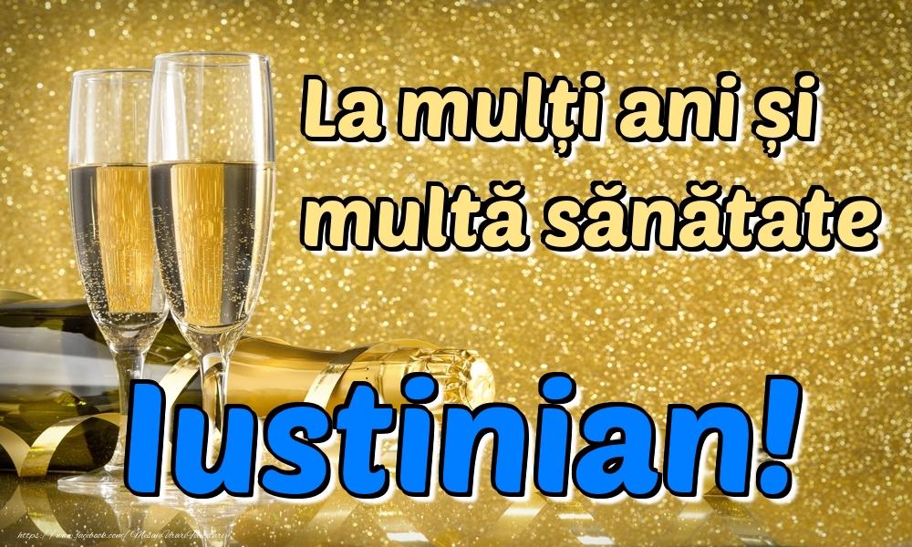 Felicitari de la multi ani | La mulți ani multă sănătate Iustinian!