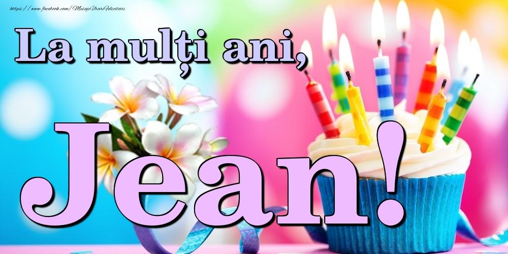 Felicitari de la multi ani | La mulți ani, Jean!