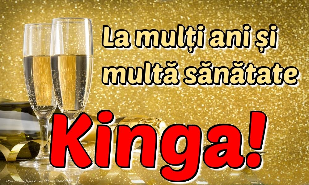 Felicitari de la multi ani | La mulți ani multă sănătate Kinga!