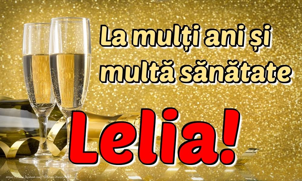 Felicitari de la multi ani | La mulți ani multă sănătate Lelia!