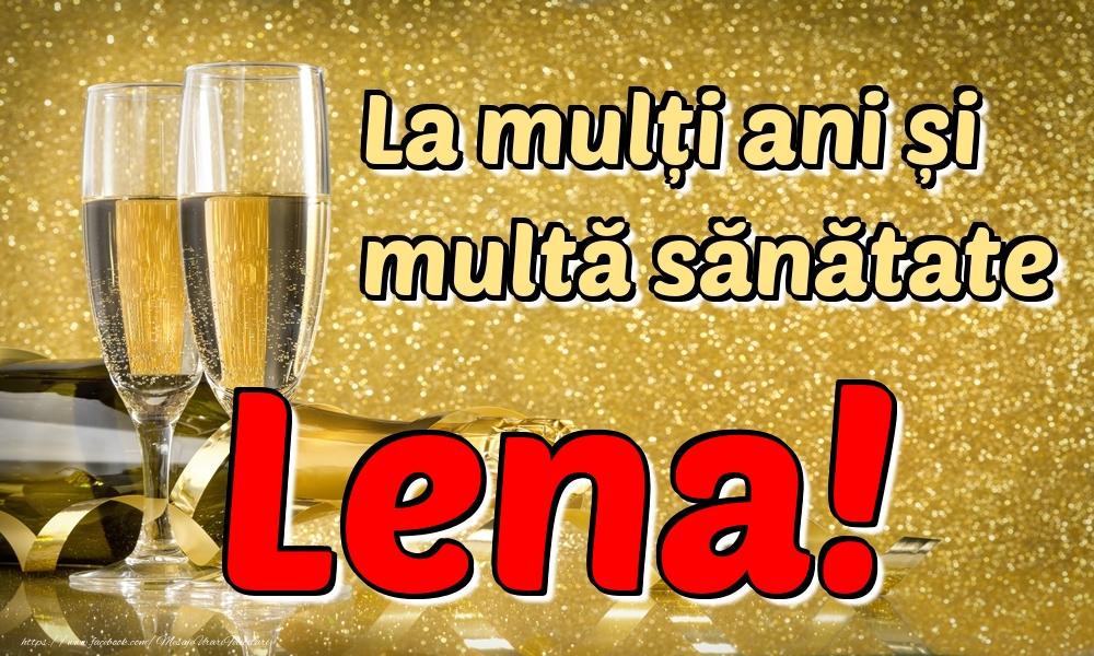Felicitari de la multi ani | La mulți ani multă sănătate Lena!