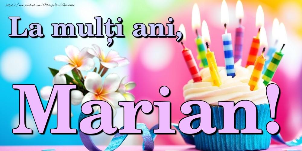 Felicitari de la multi ani | La mulți ani, Marian!