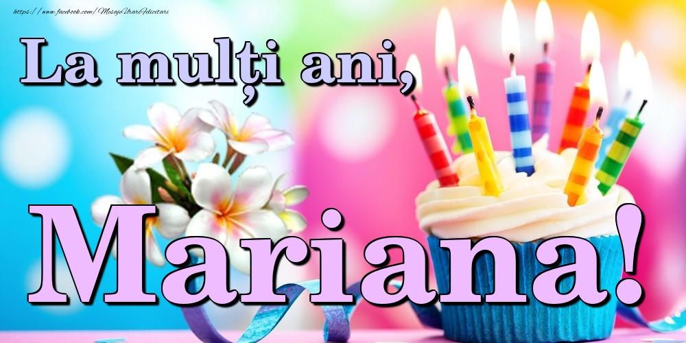 Felicitari de la multi ani | La mulți ani, Mariana!