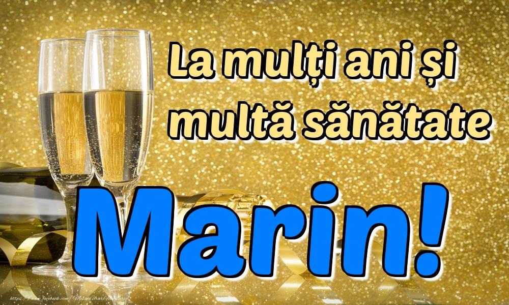 Felicitari de la multi ani | La mulți ani multă sănătate Marin!