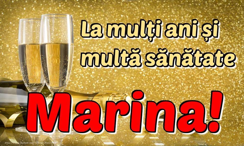 Felicitari de la multi ani | La mulți ani multă sănătate Marina!