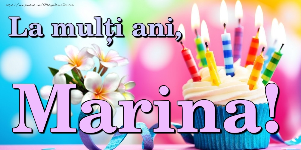 Felicitari de la multi ani | La mulți ani, Marina!