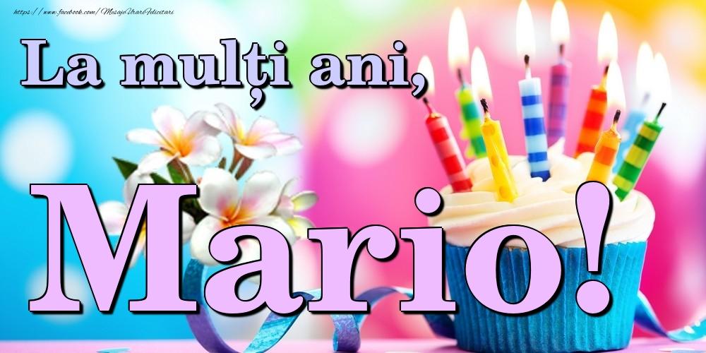 Felicitari de la multi ani | La mulți ani, Mario!