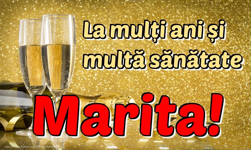 Felicitari de la multi ani | La mulți ani multă sănătate Marita!
