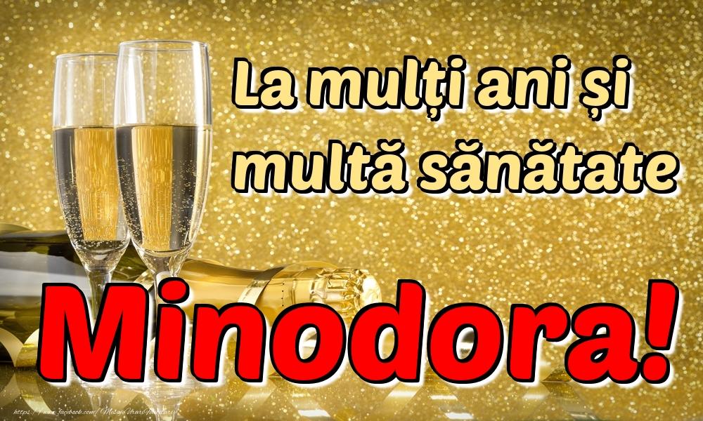 Felicitari de la multi ani | La mulți ani multă sănătate Minodora!