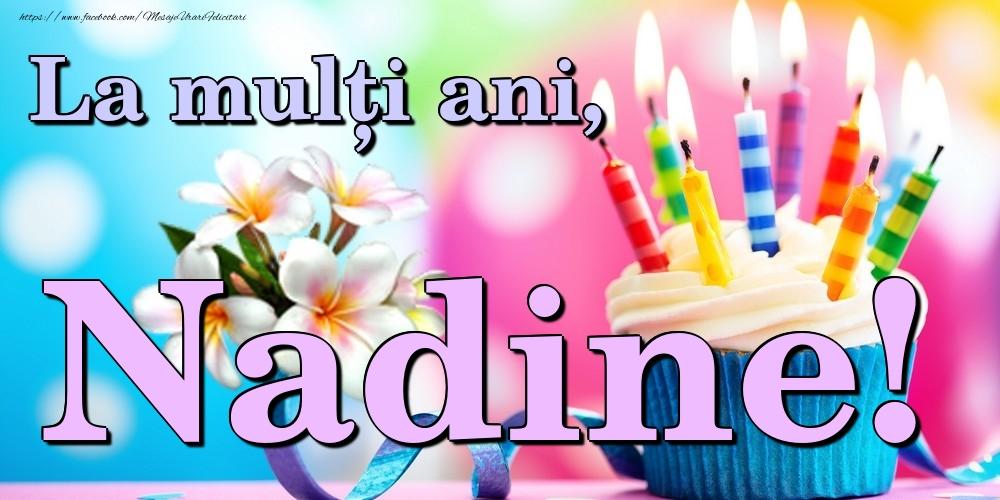 Felicitari de la multi ani | La mulți ani, Nadine!