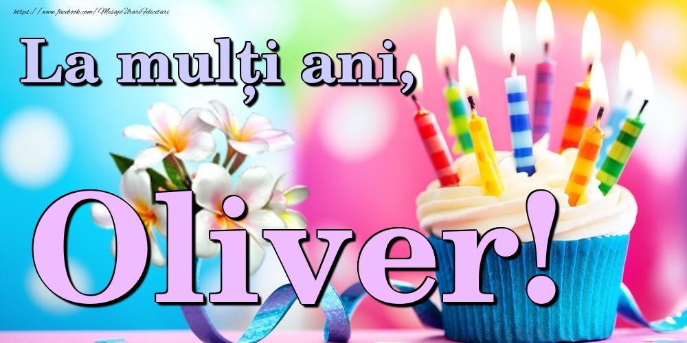 Felicitari de la multi ani   La mulți ani, Oliver!