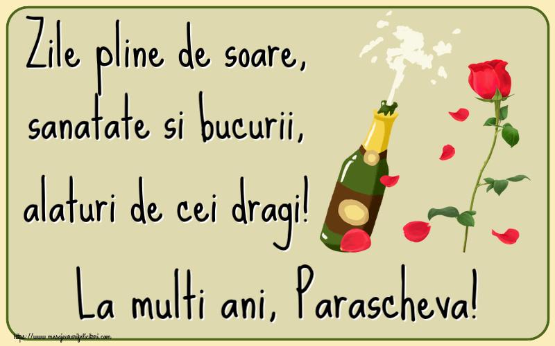 Felicitari de la multi ani | Zile pline de soare, sanatate si bucurii, alaturi de cei dragi! La multi ani, Parascheva!