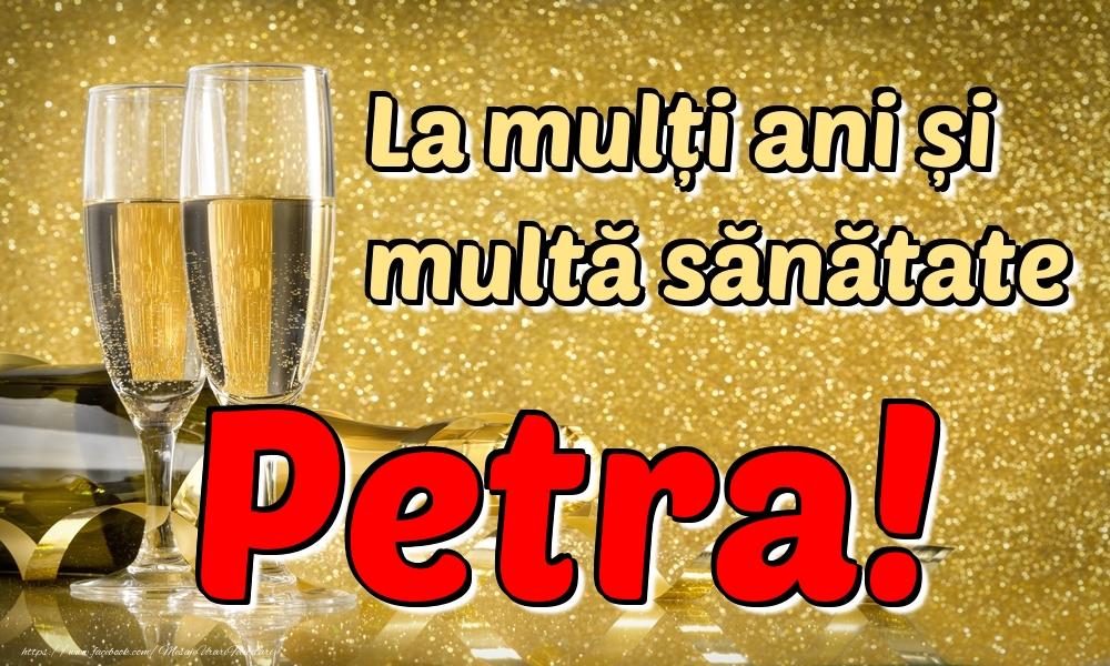 Felicitari de la multi ani | La mulți ani multă sănătate Petra!
