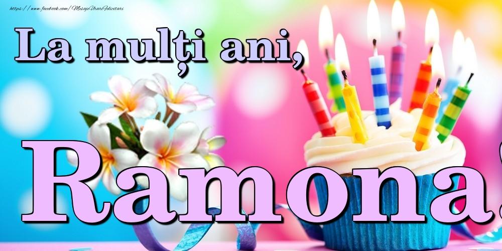 Felicitari de la multi ani | La mulți ani, Ramona!