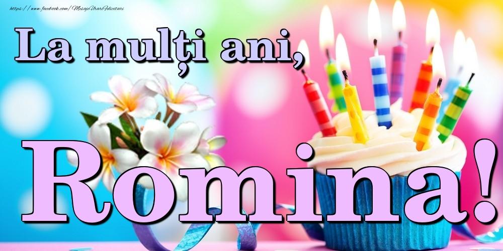Felicitari de la multi ani | La mulți ani, Romina!