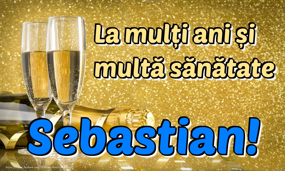 Felicitari de la multi ani | La mulți ani multă sănătate Sebastian!