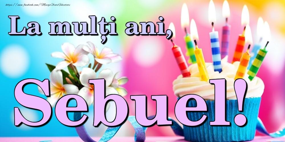 Felicitari de la multi ani | La mulți ani, Sebuel!