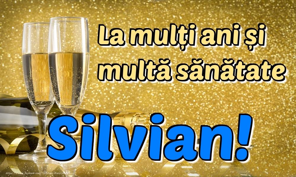 Felicitari de la multi ani | La mulți ani multă sănătate Silvian!