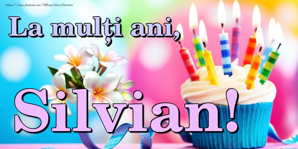 Felicitari de la multi ani | La mulți ani, Silvian!