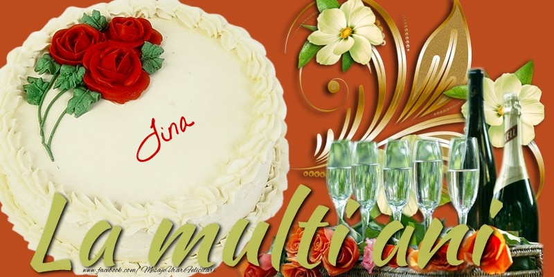 Felicitari de la multi ani   La multi ani, Tina!