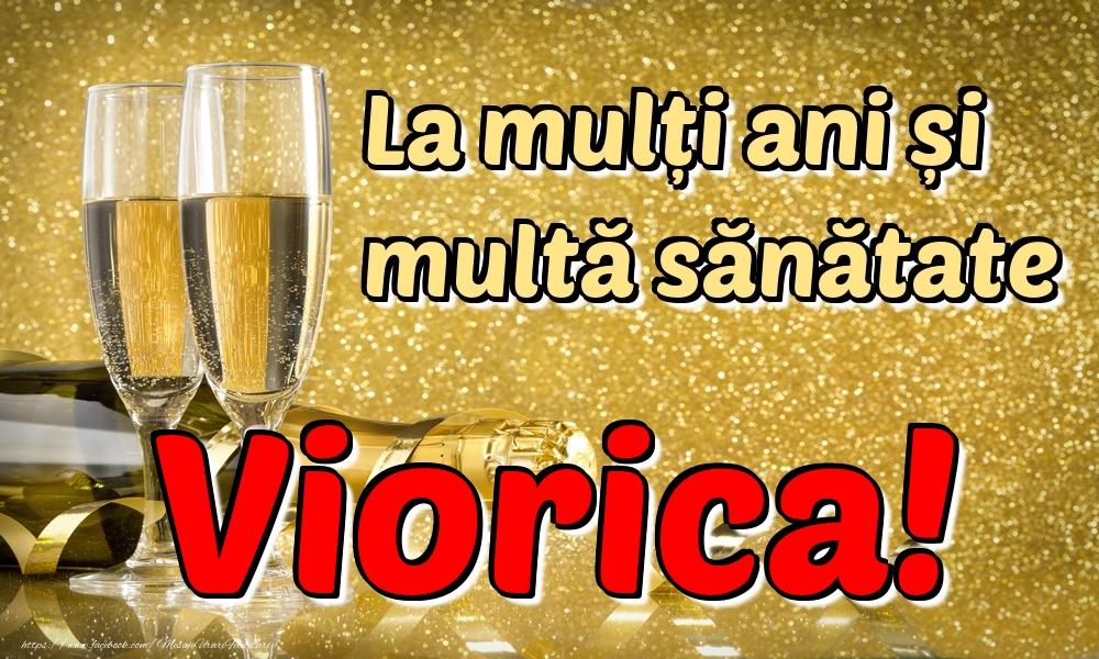 Felicitari de la multi ani | La mulți ani multă sănătate Viorica!