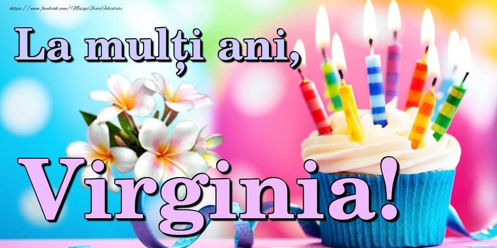 Felicitari de la multi ani | La mulți ani, Virginia!