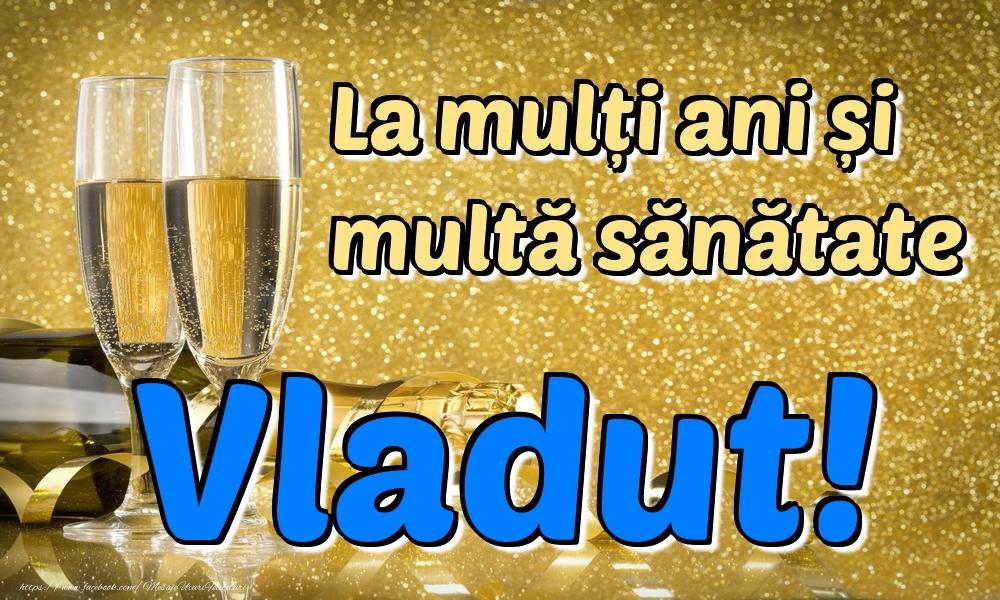 Felicitari de la multi ani   La mulți ani multă sănătate Vladut!
