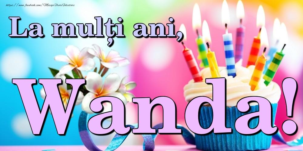 Felicitari de la multi ani | La mulți ani, Wanda!
