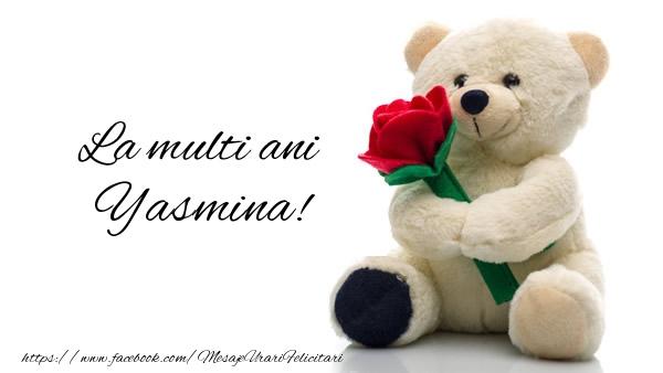 Felicitari de la multi ani   La multi ani Yasmina!
