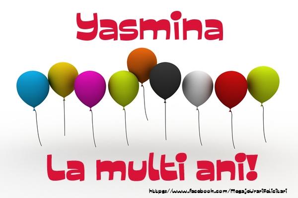 Felicitari de la multi ani | Yasmina La multi ani!