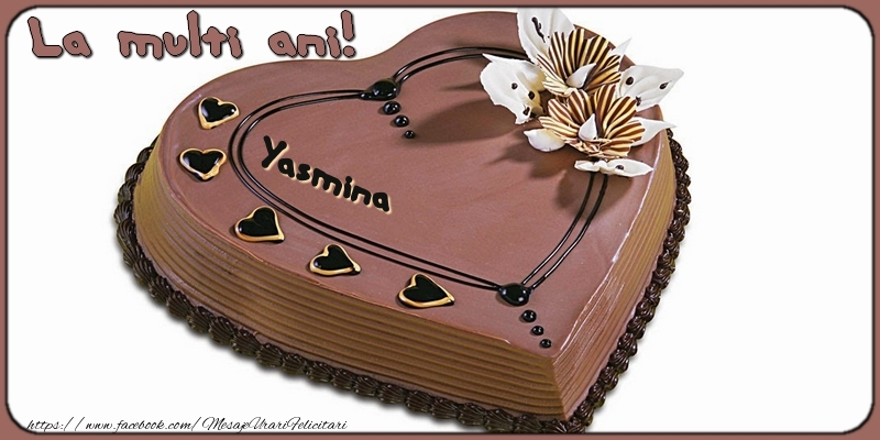 Felicitari de la multi ani | La multi ani, Yasmina