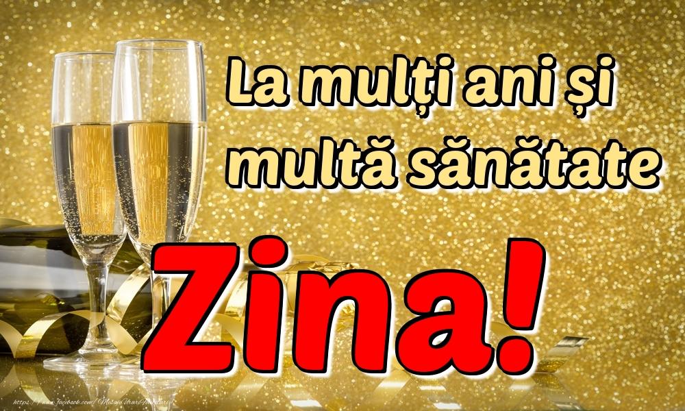 Felicitari de la multi ani | La mulți ani multă sănătate Zina!