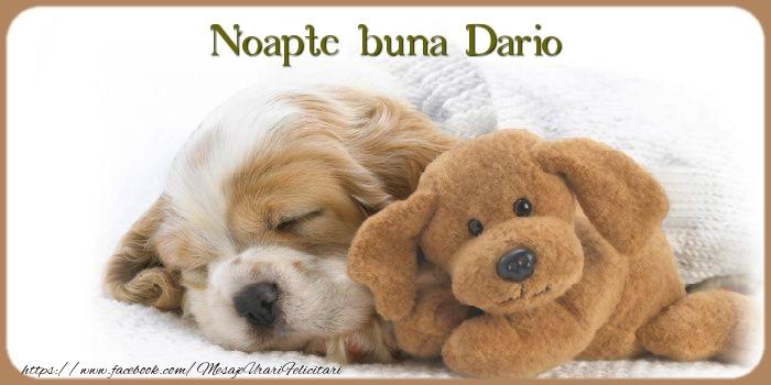 Felicitari de noapte buna | Noapte buna Dario