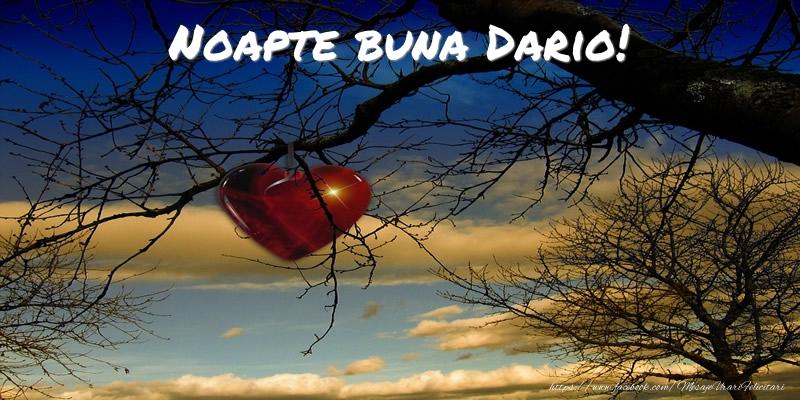 Felicitari de noapte buna | Noapte buna Dario!