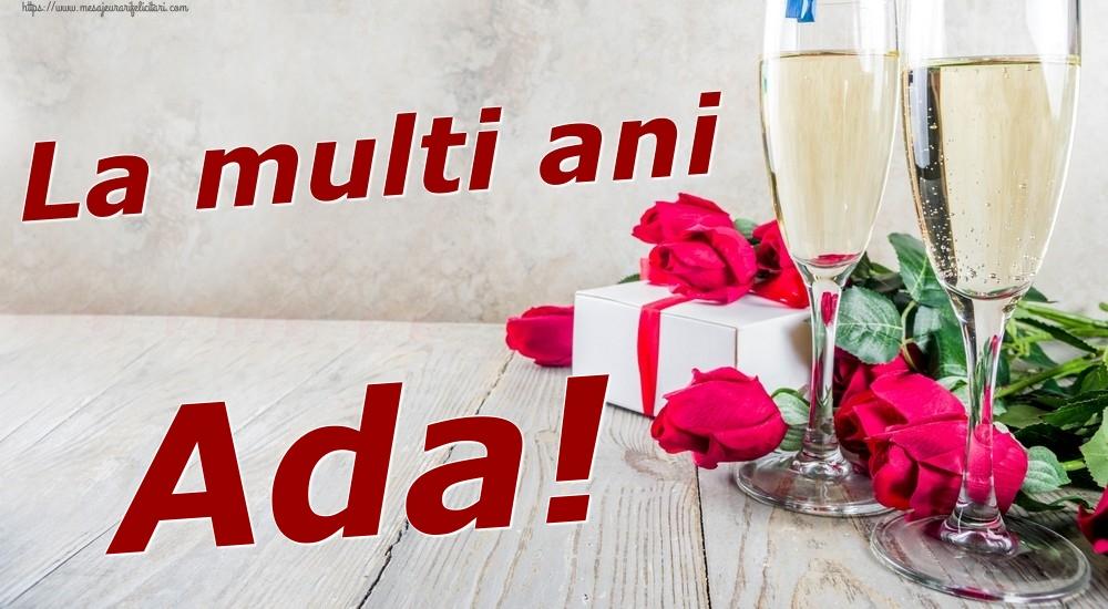 Felicitari de zi de nastere | La multi ani Ada!