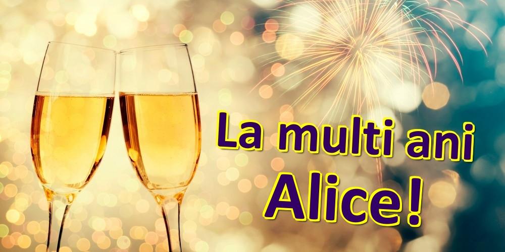 Felicitari de zi de nastere | La multi ani Alice!