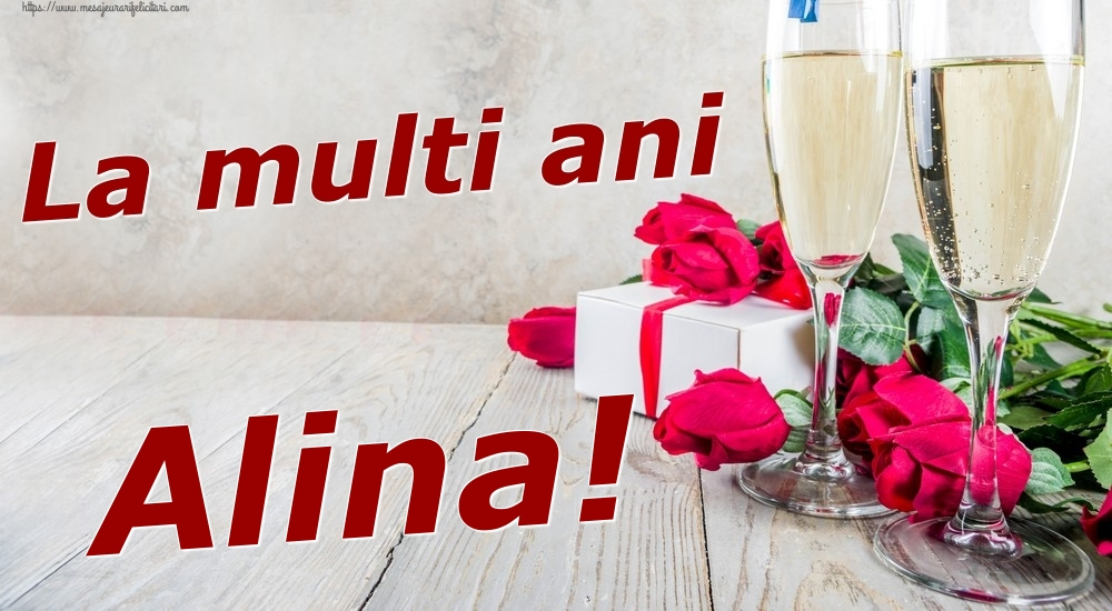 Felicitari de zi de nastere | La multi ani Alina!