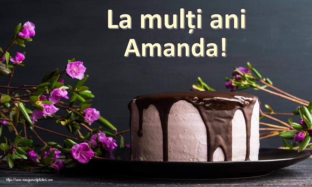 Felicitari de zi de nastere | La mulți ani Amanda!