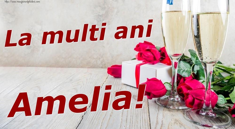 Felicitari de zi de nastere   La multi ani Amelia!
