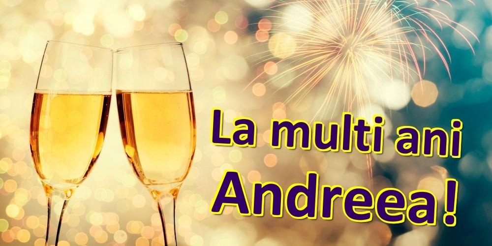 Felicitari de zi de nastere | La multi ani Andreea!