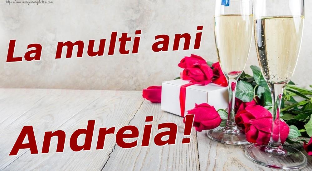 Felicitari de zi de nastere | La multi ani Andreia!